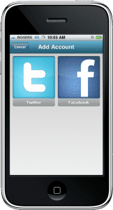 Tools for Twitter and Facebook on iPhone