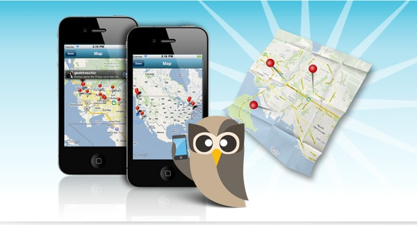 HootSuite iPhone with more Geo-location goodness