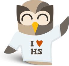 I heart HootSuite owl