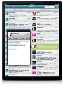 Contact View on HootSuite iPad