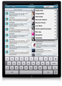 HootSuite iPad Twitter Search