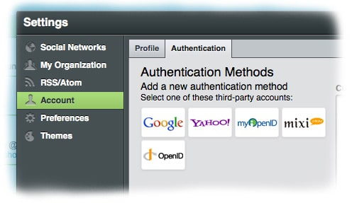 openID from HootSuite