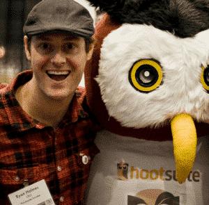 CEO HootSuite Ryan Holmes