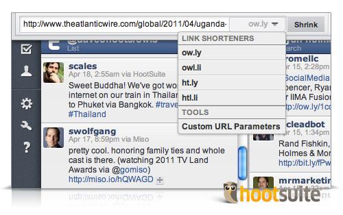 HootSuite URL Shortener Examples