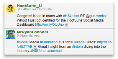 Chat with HootSuite University