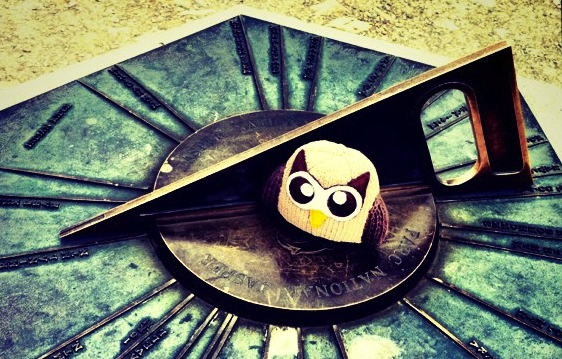 Owly on the go to SXSW 2012 in Austin Texas