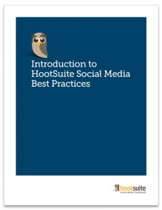 White Paper on social media best practices for HootSuite