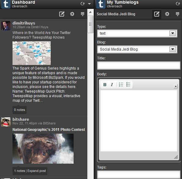 App Directory Tumblr Integration