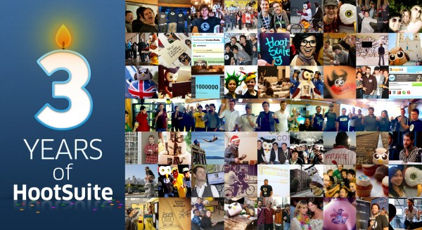 HootSuite 3rd Anniversary