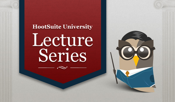HootSuite University Lecture Series Header