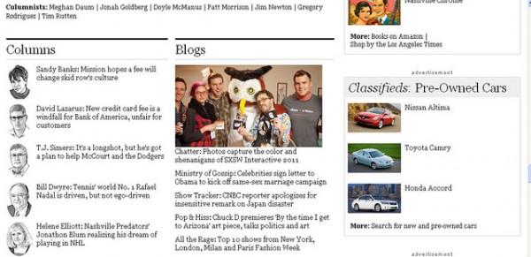 HootSuite at SXSW - LA Times