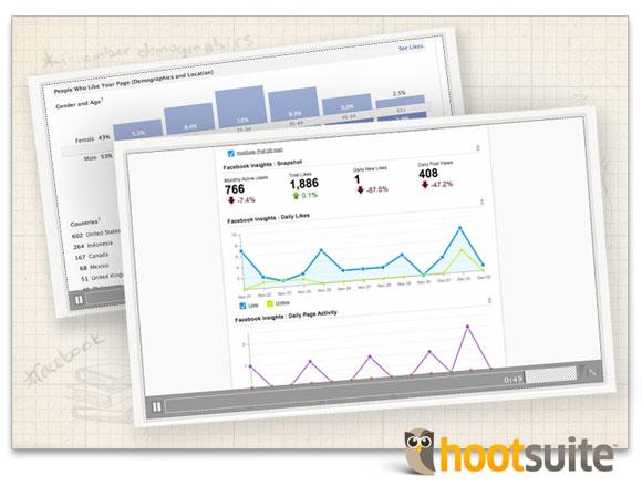 HootSuite University Courseware Facebook Screenshot