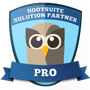 HootSuite Solution Partner Badge