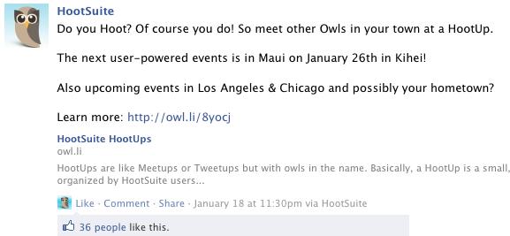 HootSuite announces HootUpMaui