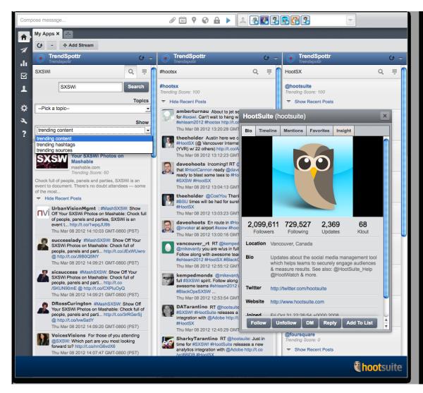 Trendspottr V2 Screenshot