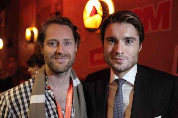Ryan Holmes and Pete Cashmore at SxSW