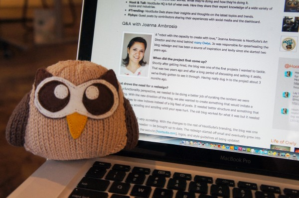 Owly Plush Blogs