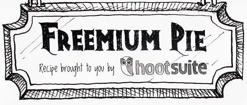 freemium pie banner