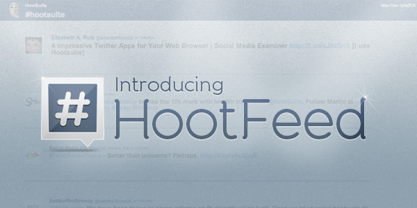 hootfeed header