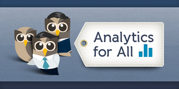 analytics for all header