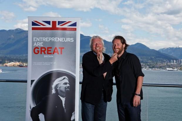 Ryan and Richard Branson