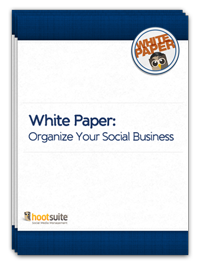 Organize Your Social Business Paper Icon