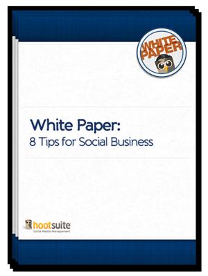 White Paper: 8 Tips for Social Business