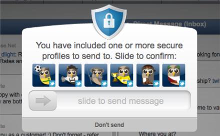 HootSuite Security Slide Lock