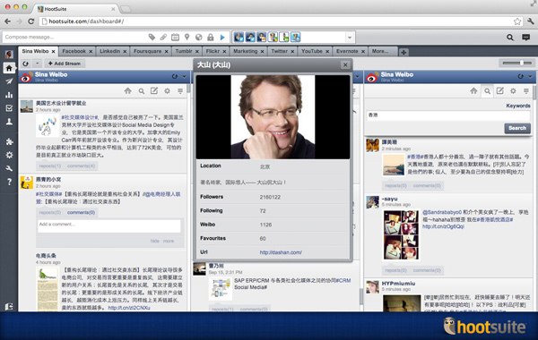 Weibo for HootSuite