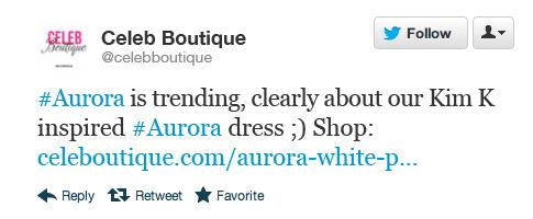 Tweet - Celeb Boutique