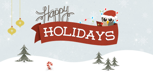 Happy Holidays from HootSuite