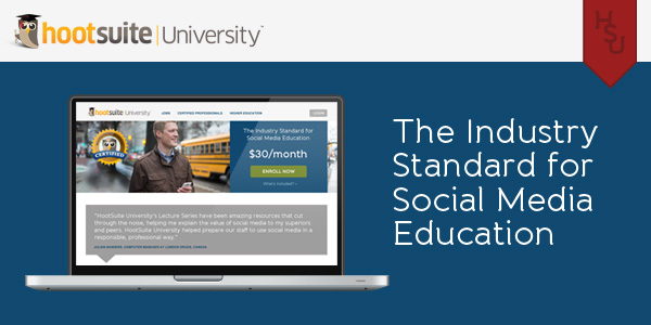 The industry standard for social media education