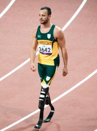 South African famed runner, Oscar Pistorius. Image from flickr Mister-E