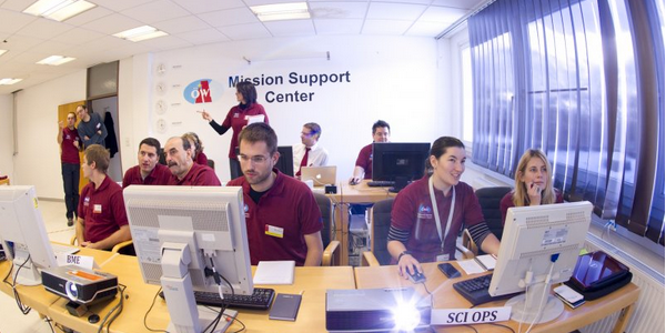 Mission Support in Innsbruck, which is part social media command center