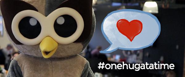 Spread the HootLove, #onehugatatime