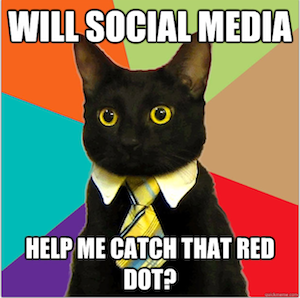 Executives struggle to see the ROI of social media.