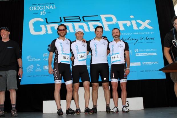 Team HootSuite atUBC grand prix