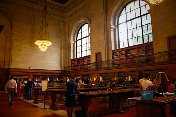 The New York Public Library. Photo by TristanReville on Flickr.