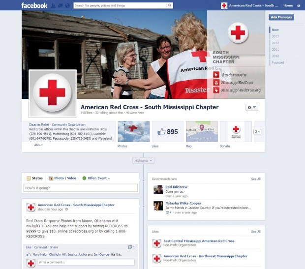 American Red Cross   South Mississippi Chapter