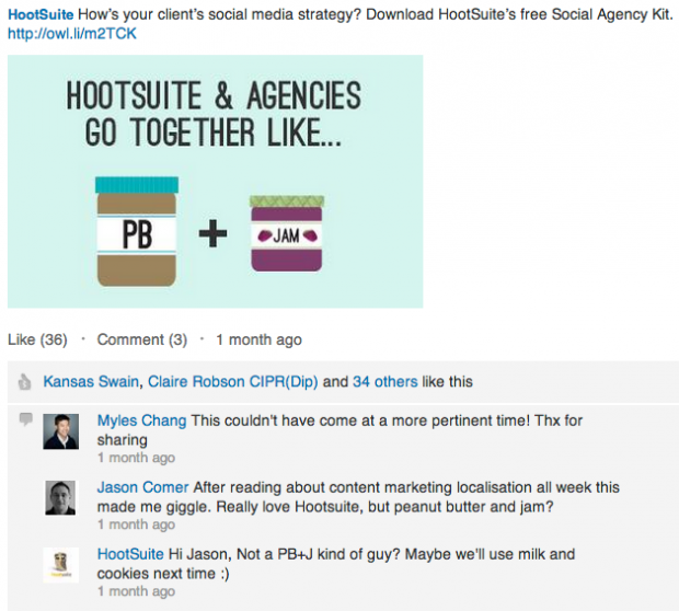 LinkedIn Sponsored Updates Engagement