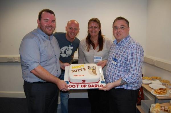 HootSuite UK HootUp Cake