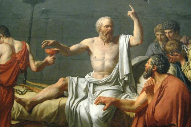 NYC - Metropolitan Museum of Art - Death of Socrates by Wally Gobetz via Flickr