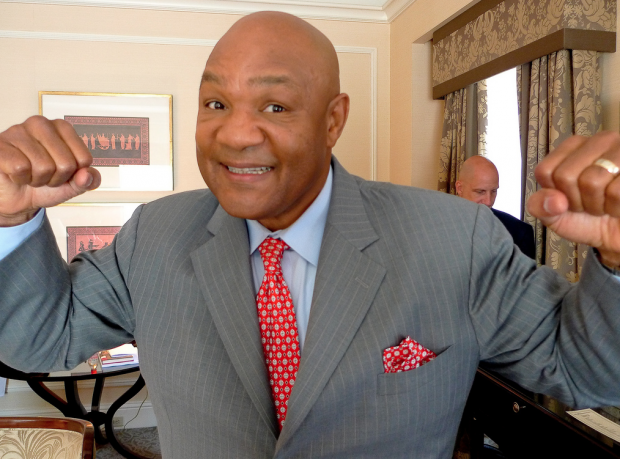 George Foreman. Image by Michael Shick via Flickr
