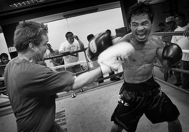 "Manny ""pacman"" Pacquiao. Image by Roger Alcantara via Flickr"