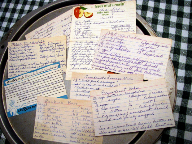 Recipes. Image by Pirate Johnny via Flickr