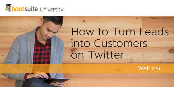 How to Turn Leads Into Customers on Twitter