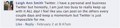 Ignoring Social Networks 1