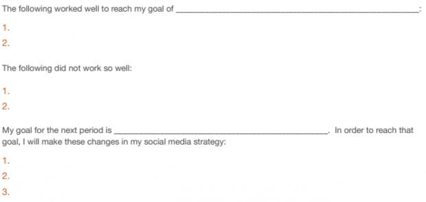 Social Media Strategy Guide Step 5 Checklist