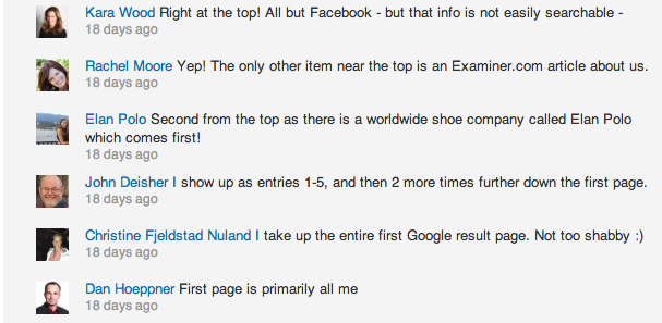Responses from some of our LinkedIn followers.