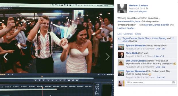 Wedding Social Media Video